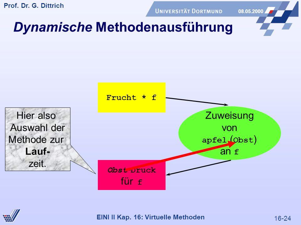 16-24 Prof. Dr. G. Dittrich 08.05.2000 EINI II Kap.