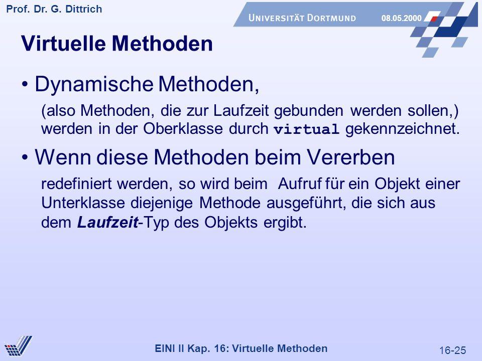 16-25 Prof. Dr. G. Dittrich 08.05.2000 EINI II Kap.