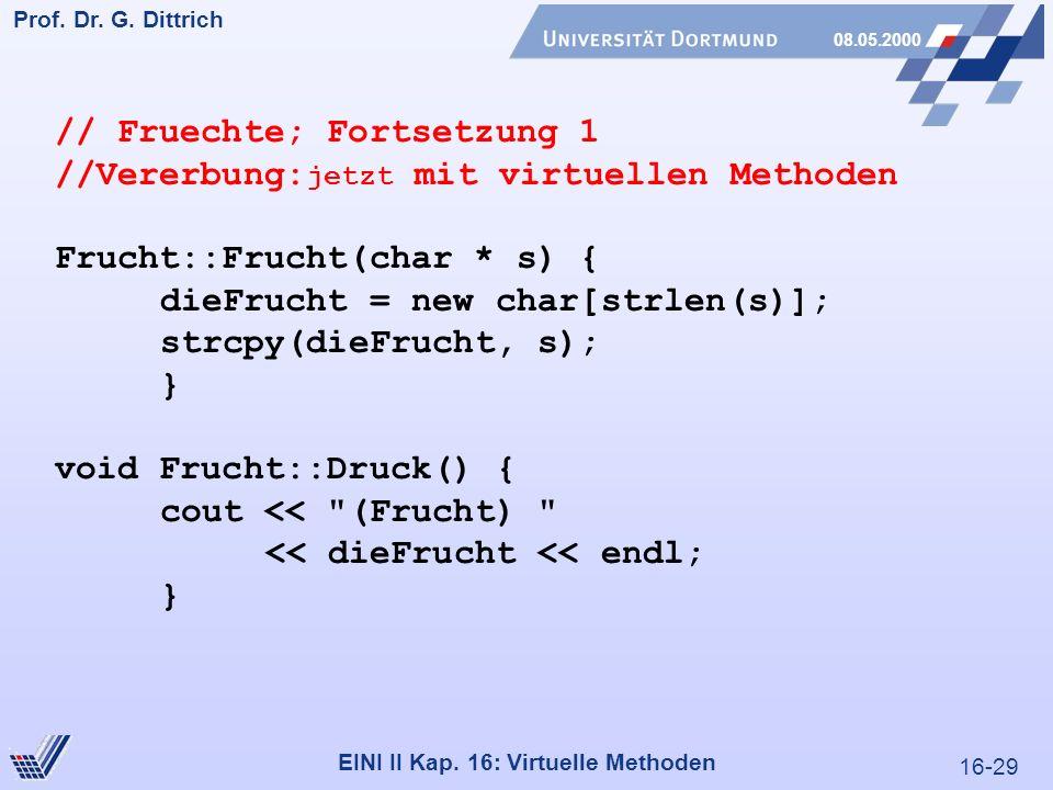 16-29 Prof. Dr. G. Dittrich 08.05.2000 EINI II Kap.
