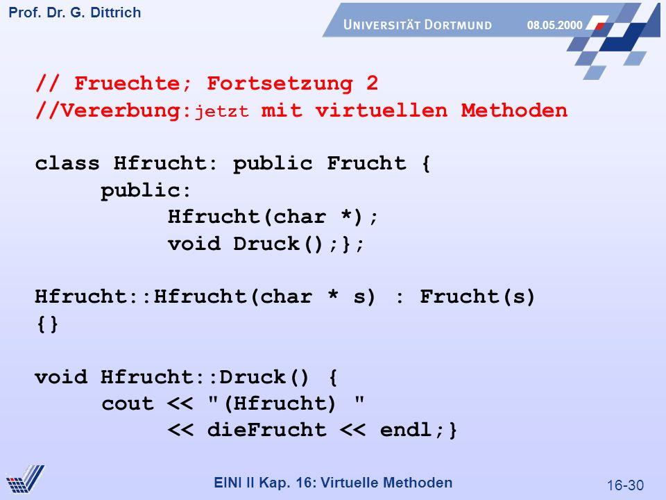 16-30 Prof. Dr. G. Dittrich 08.05.2000 EINI II Kap.