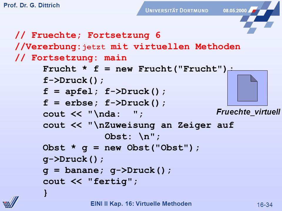 16-34 Prof. Dr. G. Dittrich 08.05.2000 EINI II Kap.