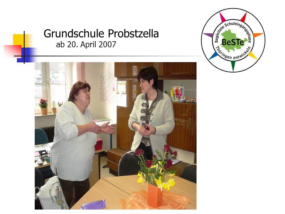 Grundschule Probstzella ab 20. April 2007