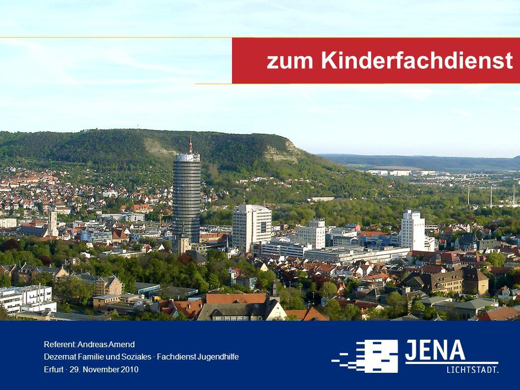 Kinderfachdienst in Jena Gesetzlicher Auftrag: § 7 (4) i.V.m.