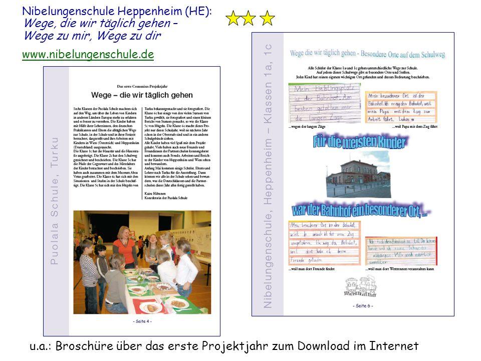 Nibelungenschule Heppenheim (HE): Wege, die wir täglich gehen – Wege zu mir, Wege zu dir www.nibelungenschule.de www.nibelungenschule.de u.a.: Broschü
