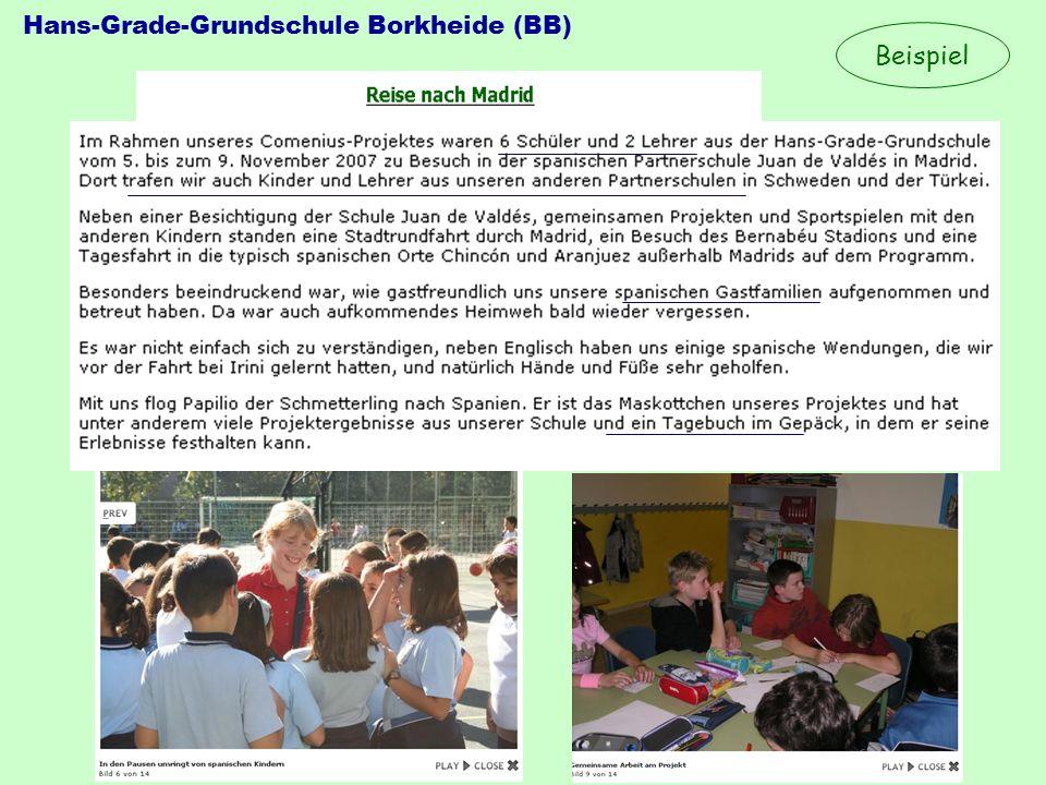 Hans-Grade-Grundschule Borkheide (BB) Beispiel