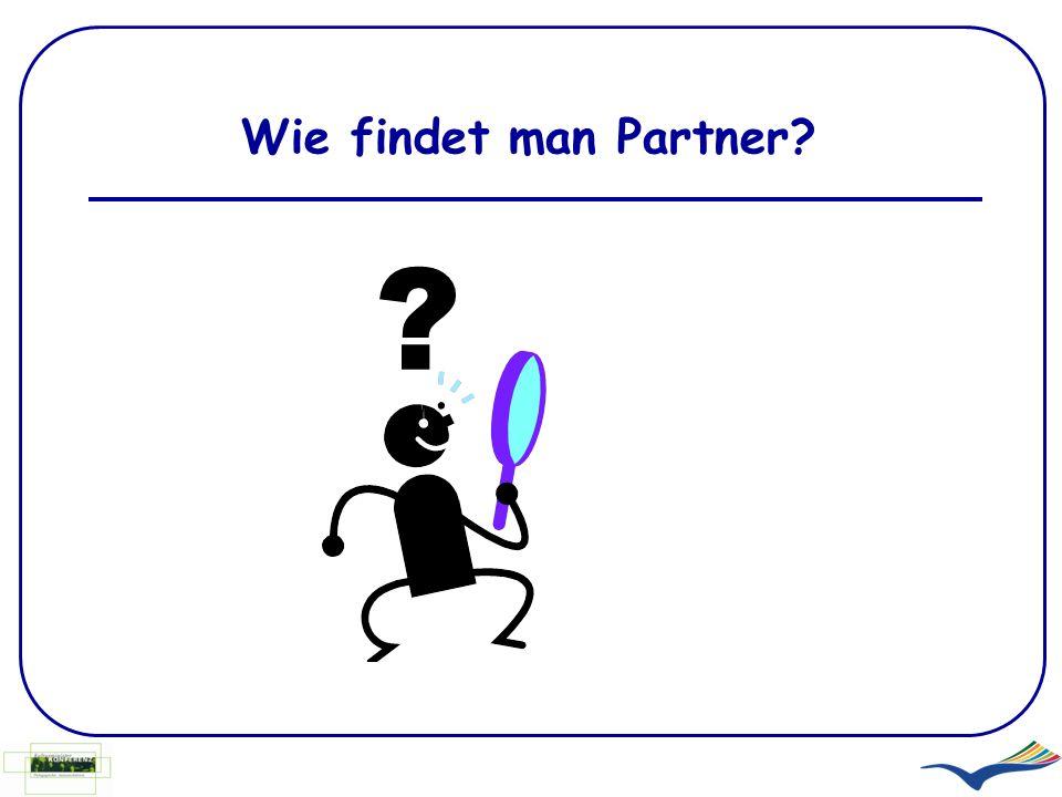 Wie findet man Partner? ?