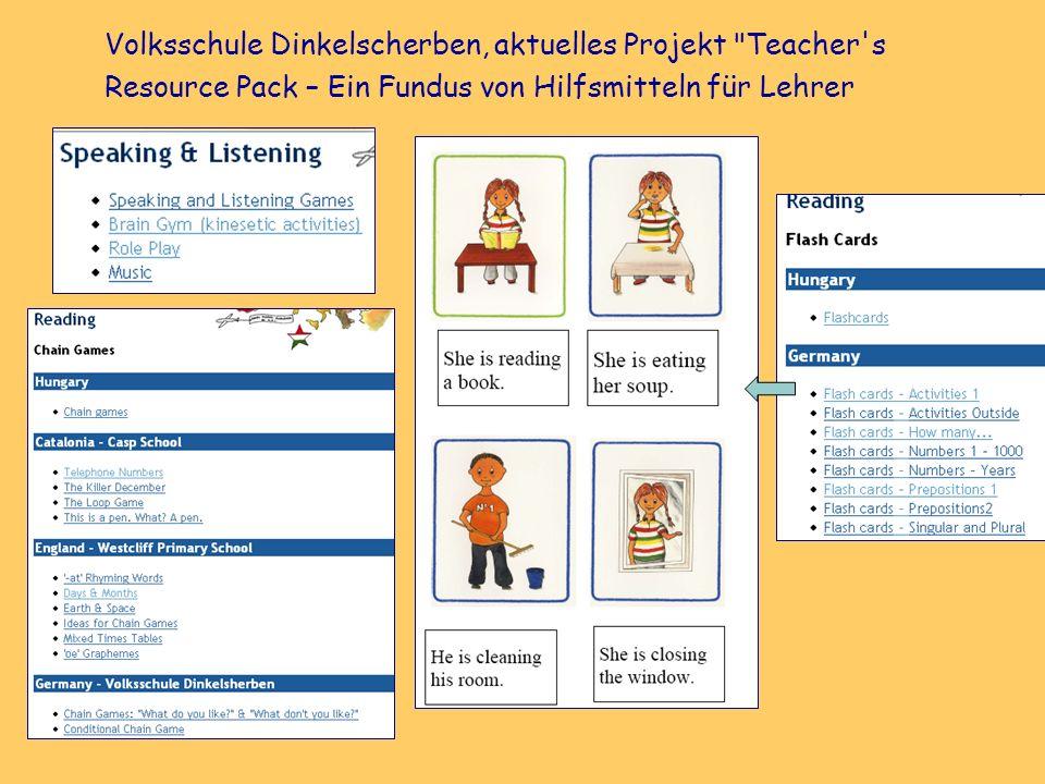 Volksschule Dinkelscherben, aktuelles Projekt