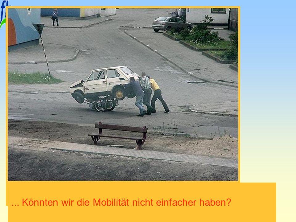 Erfurt, 29. November 2010 Prof. Dr. Armin Sohns... Könnten wir die Mobilität nicht einfacher haben?