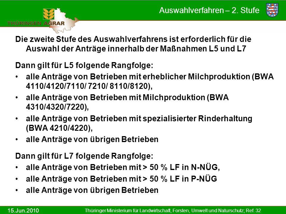 15.Jun.2010 Thüringer Ministerium für Landwirtschaft, Forsten, Umwelt und Naturschutz; Ref.