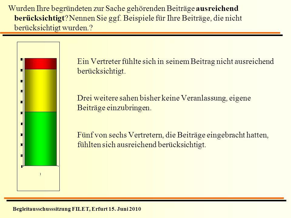 Begleitausschusssitzung FILET, Erfurt 15.