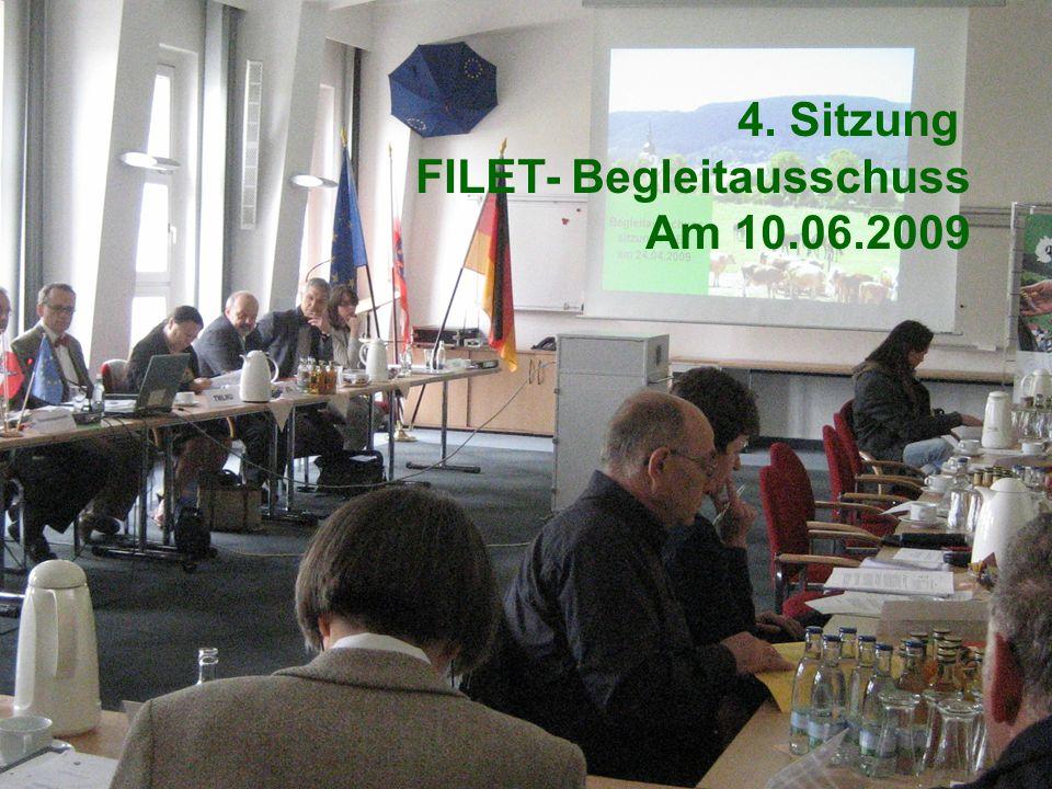 Thüringer Ministerium für Landwirtschaft, Naturschutz und Umwelt 4. BGA am 10.06.2009 Tagesordnung 4. Sitzung des Begleitausschusses 1.Bestätigung des