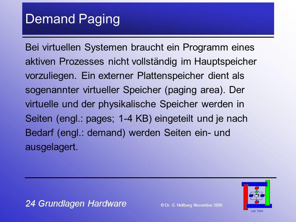 24 Grundlagen Hardware © Dr.G.