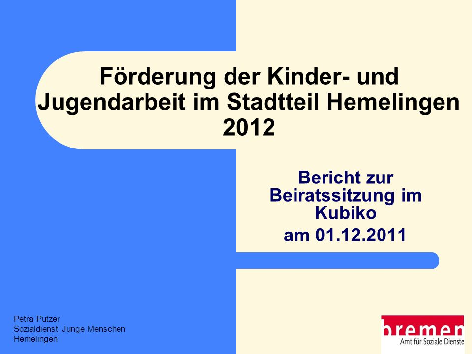 2 Ablauf Einführung Rückblick 2011 Ausblick: Planung 2012