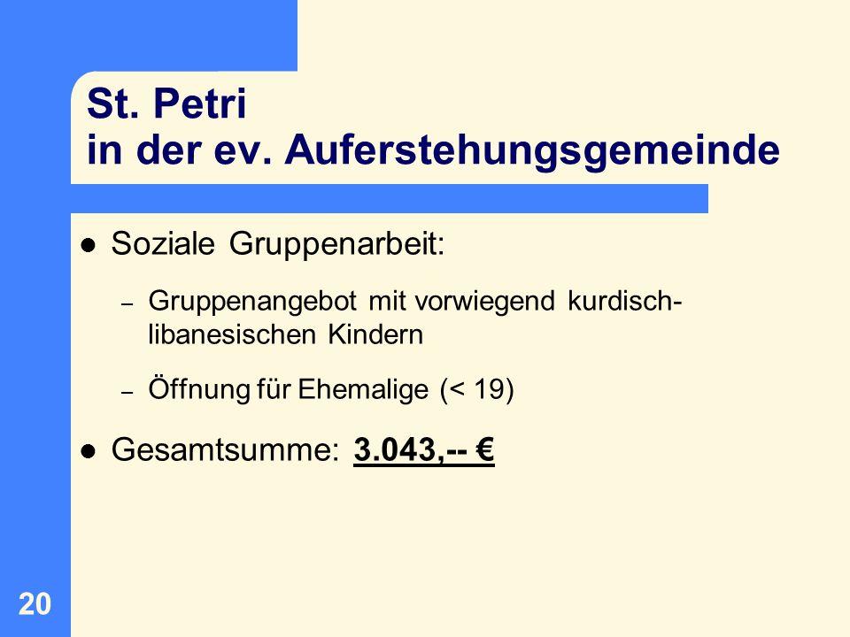 21 VAJA: Cliquenarbeit in Arbergen und Mahndorf Cliquenarbeit Arbergen – Streetwork / Aufsuchende Jugendarbeit mit Cliquen aus Arbergen – z.