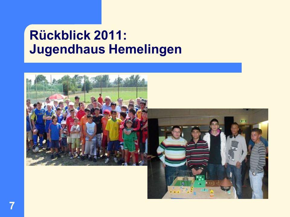 8 Rückblick 2011: Ein Haus für unsere Freundschaft e.V.