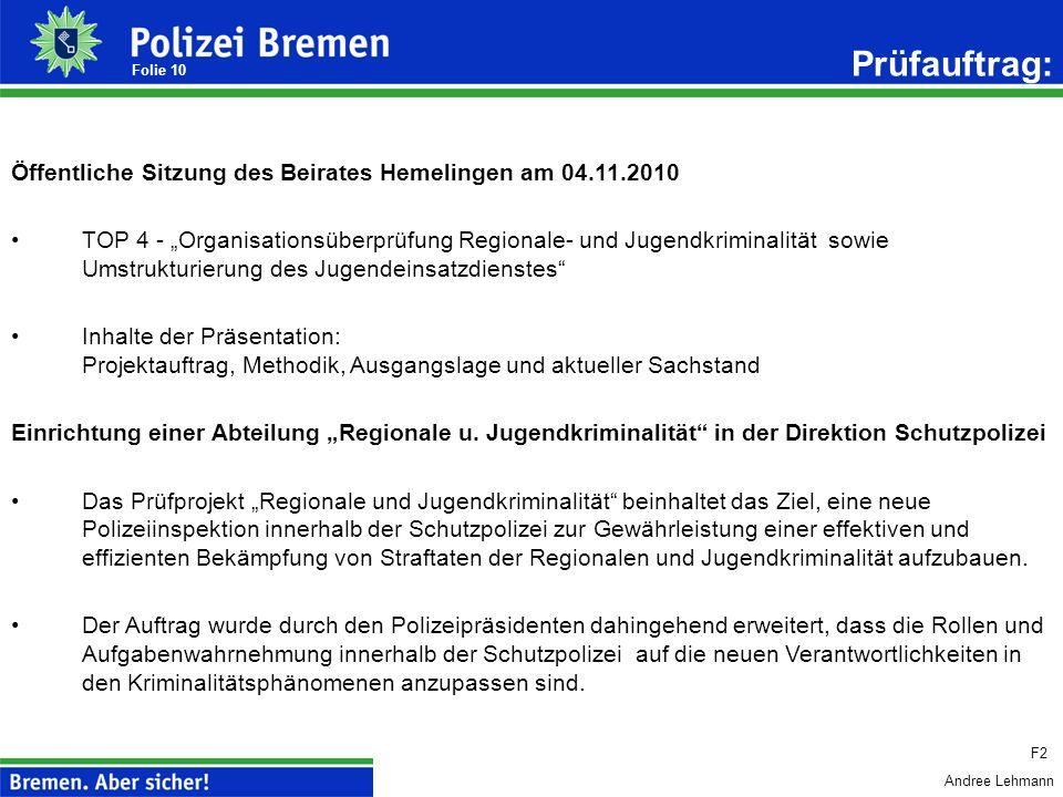 Andree Lehmann 9 Polizei Bremen