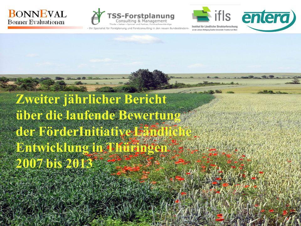 Zweiter jährlicher Bericht über die laufende Bewertung der FörderInitiative Ländliche Entwicklung in Thüringen 2007 bis 2013