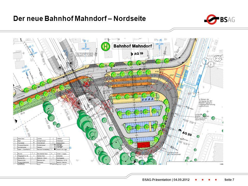Nachtlinien im Bremer Osten ab 2013 Seite 6BSAG-Präsentation   04.09.2012