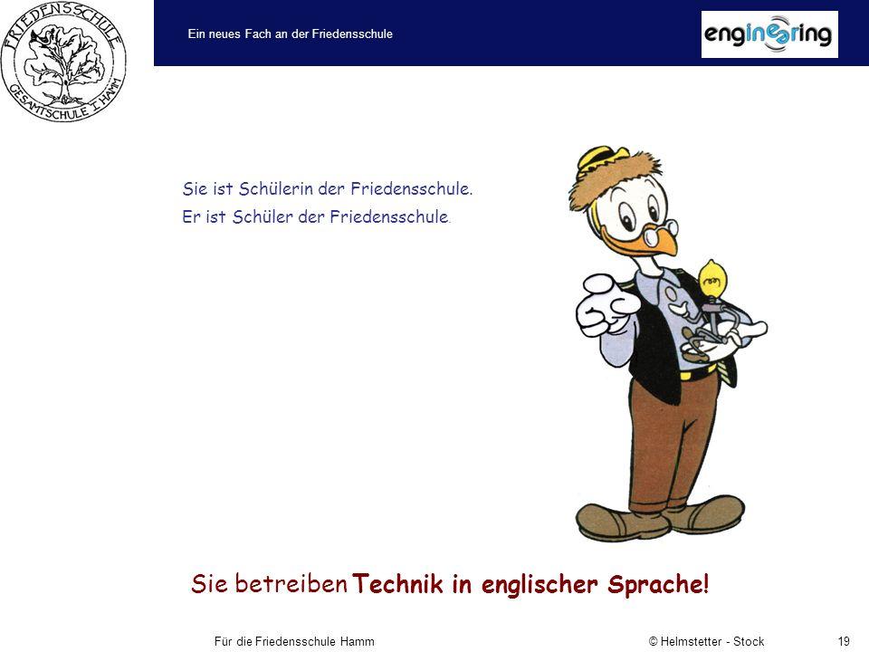 Ein neues Fach an der Friedensschule Für die Friedensschule Hamm © Helmstetter - Stock19 Sie ist Schülerin der Friedensschule.