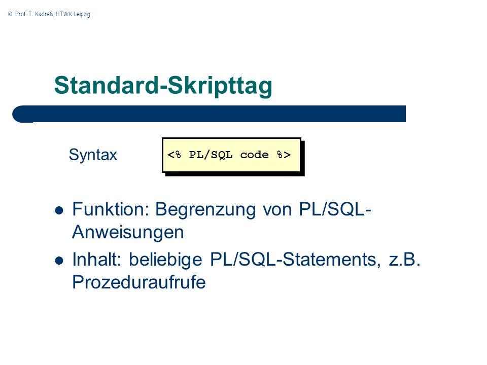 © Prof. T. Kudraß, HTWK Leipzig PSP des Master-Frames Master-Datasets >