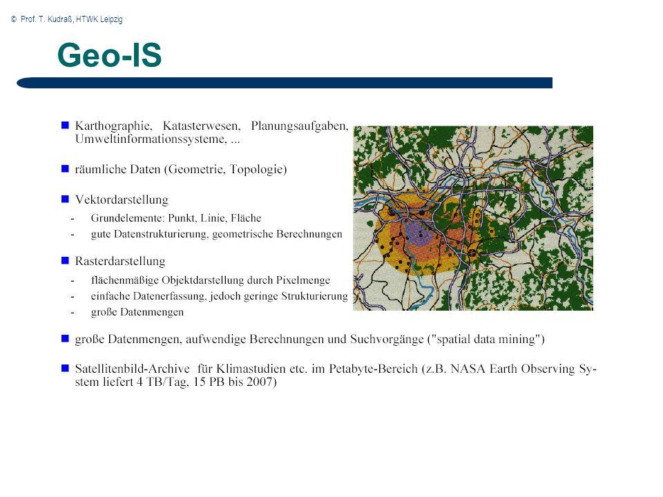 © Prof. T. Kudraß, HTWK Leipzig Geo-IS