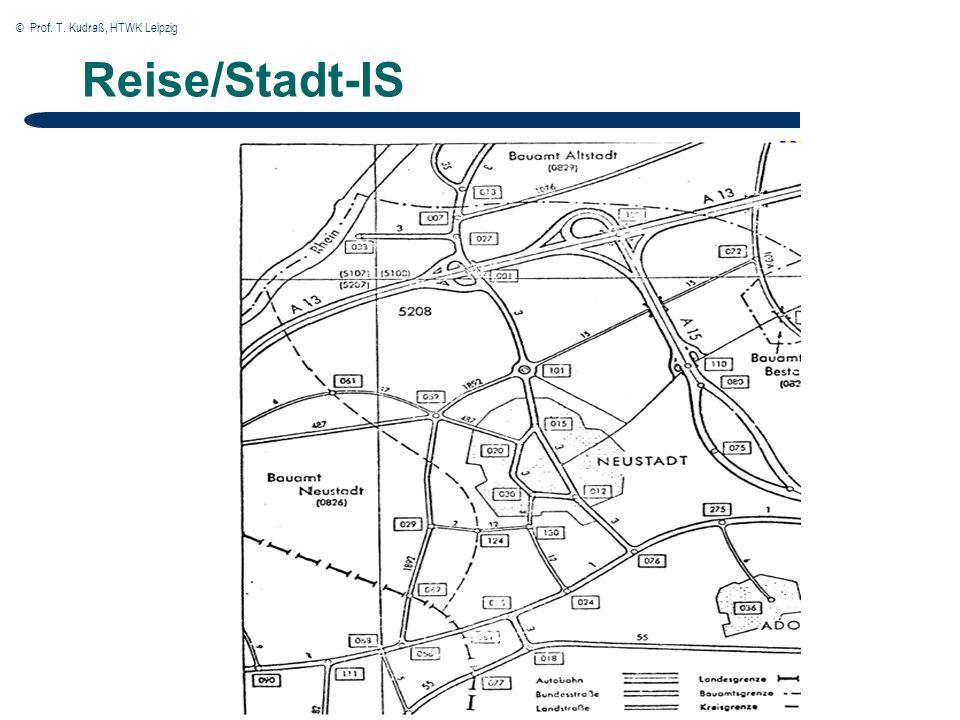 © Prof. T. Kudraß, HTWK Leipzig Reise/Stadt-IS
