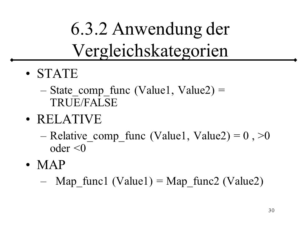 31 6.4 Cast - Funktionen UDT erschient wie anderer Datentyp Distinct UDTs mit impliziter CAST – Fkt.