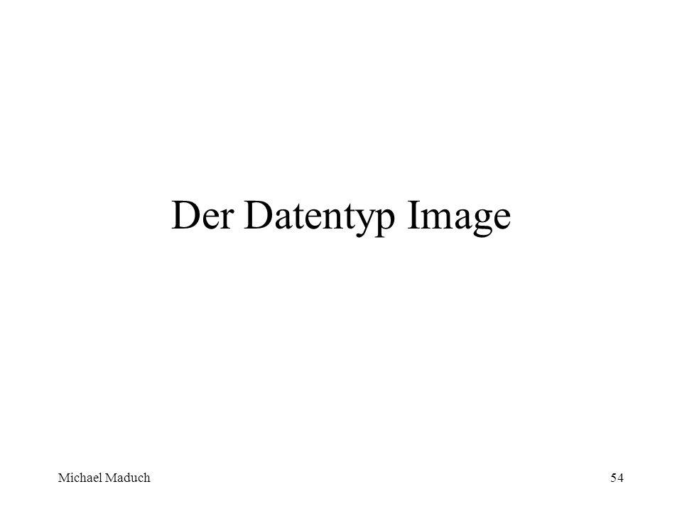 Michael Maduch54 Der Datentyp Image