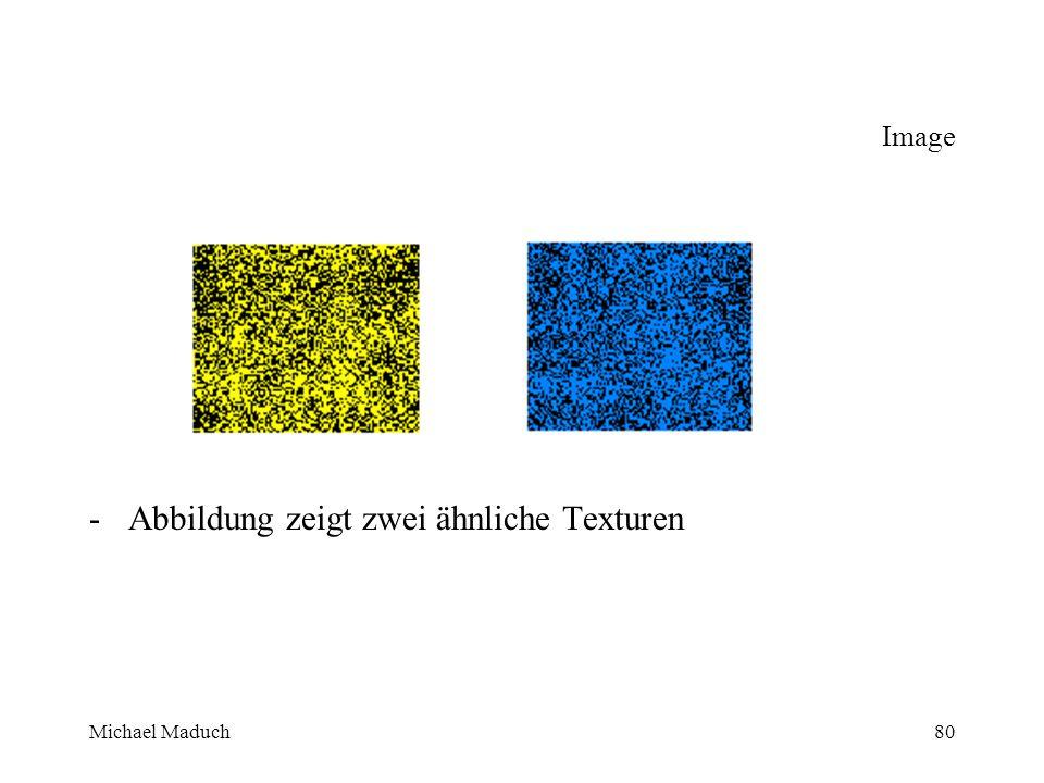 Michael Maduch80 Image -Abbildung zeigt zwei ähnliche Texturen