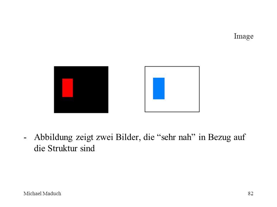Michael Maduch82 Image -Abbildung zeigt zwei Bilder, die sehr nah in Bezug auf die Struktur sind