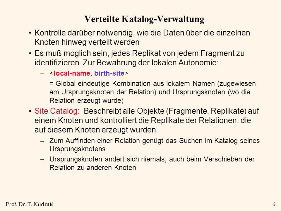 Prof.Dr. T. Kudraß17 Implementierung des 2.