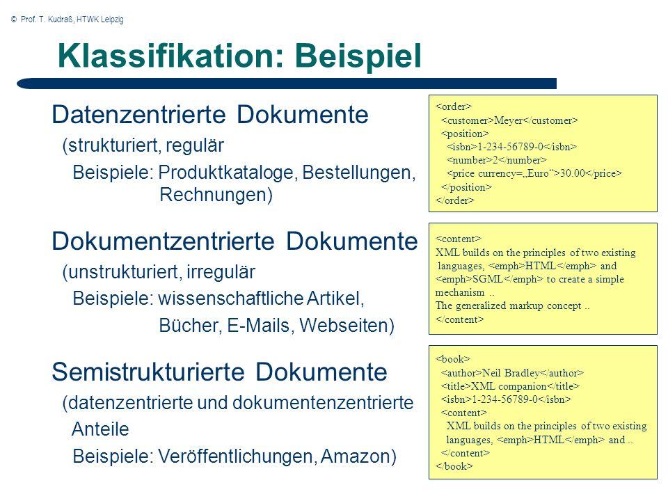 © Prof.T. Kudraß, HTWK Leipzig XSQL Page Processor Architektur XSL Stylesheet XSQL Page XML o.a.