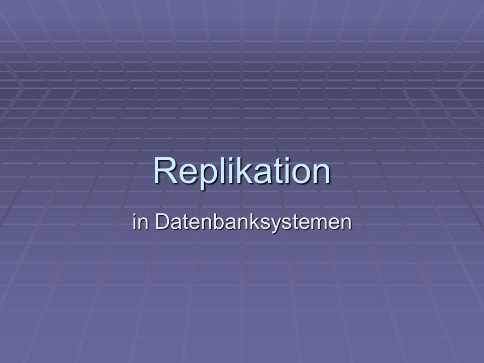 Ronny Dathe, 05 IN-D Replikation in Oracle 10g Replizierbare Objekte Replizierbare Objekte Replikationshierarchie Replikationshierarchie Replikationsarten Replikationsarten Multimaster Replication Multimaster Replication Materialized View Replication (Master Slave) Materialized View Replication (Master Slave) Hybrid – Konfigurationen Hybrid – Konfigurationen Replikationswerkzeuge Replikationswerkzeuge