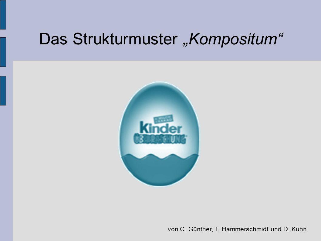 Das Strukturmuster Kompositum von C. Günther, T. Hammerschmidt und D. Kuhn