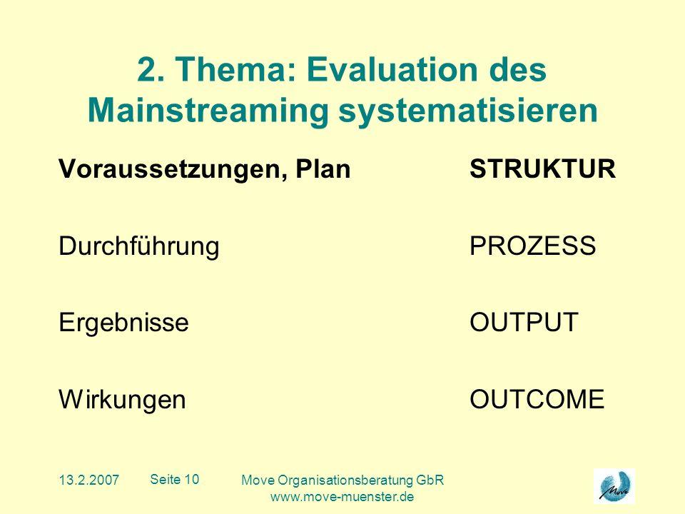 13.2.2007Move Organisationsberatung GbR www.move-muenster.de Seite 10 2.