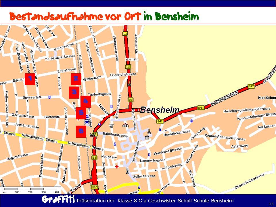 - Präsentation der Klasse 8 G a Geschwister-Scholl-Schule Bensheim 13