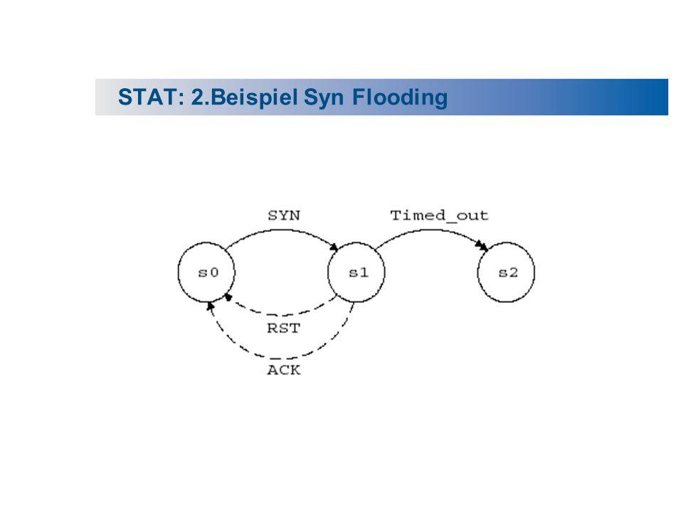 STAT: 2.Beispiel Syn Flooding