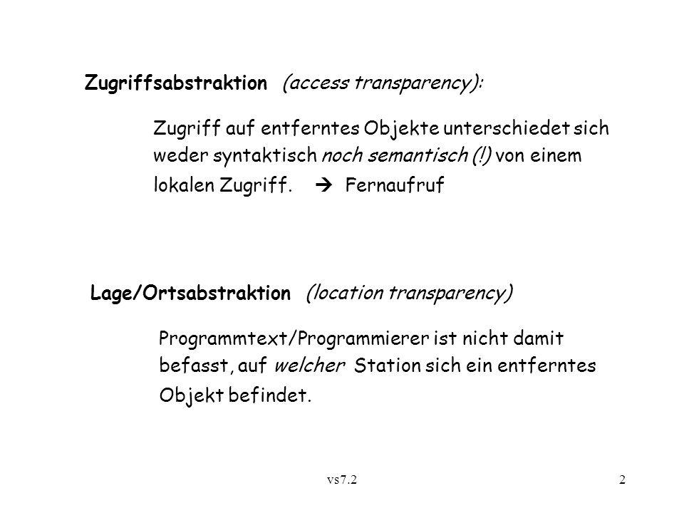 vs7.213 7.2.4 Migrationsabstraktion z.B.bei JavaParty (Univ.