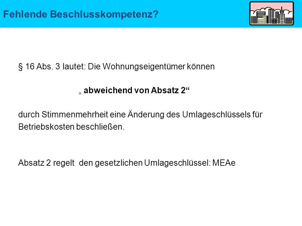 AG Hamburg: Wortlaut des § 16 Abs.