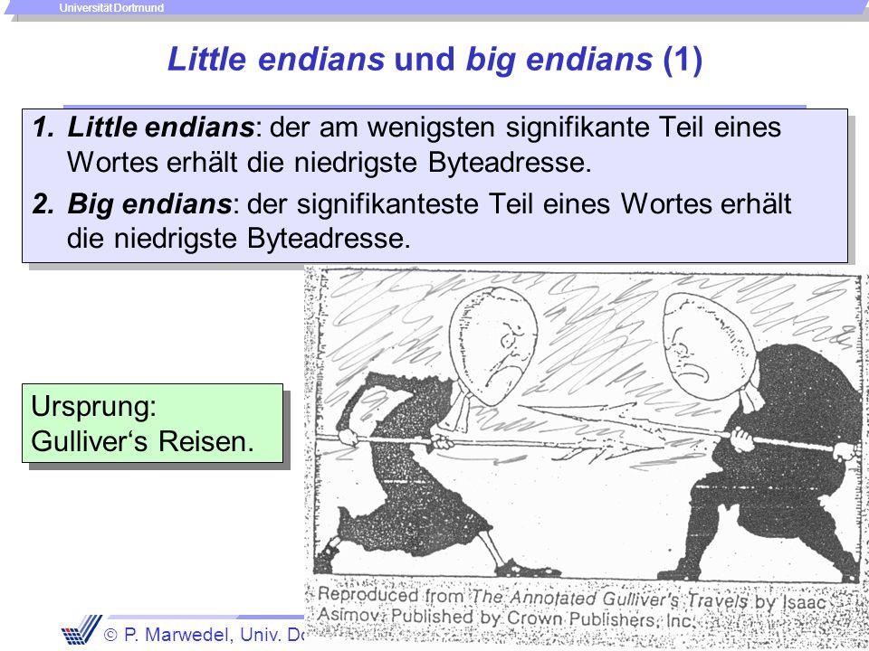 Einleitung + ISA - 81 - P. Marwedel, Univ. Dortmund, Informatik 12, 2006 Universität Dortmund Das Speichermodell Zeitkomplexität des Zugriffs: Verhalt