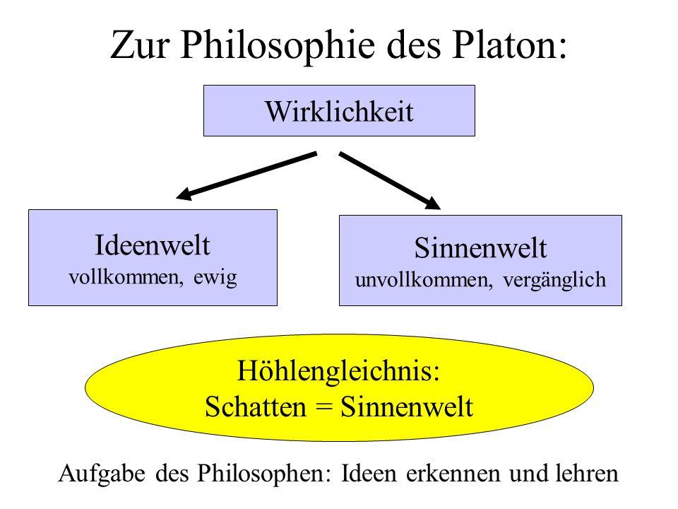 Geboren in Mazedonien Schüler des Platon 334 Gründung einer Philosophenschule in Athen Seit 342 Erzieher Alexanders des Großen Universalgenie, vielleicht bedeutendster Philosoph.