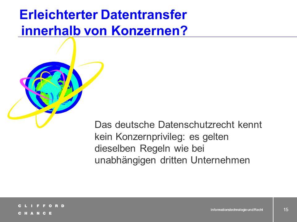 Informationstechnologie und Recht 13 Beispiele Auftragsdatenverarbeitung Call-CenterIT-OutsourcingLettershops