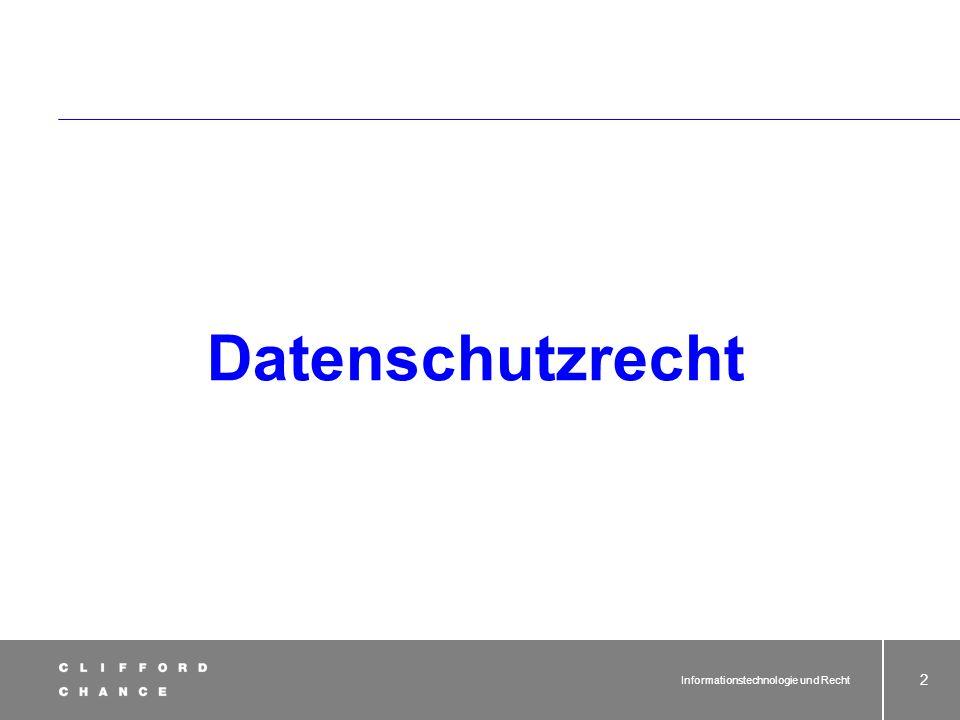 Dr. Joachim Schrey Ausgewählte Rechtsfragen im Zusammenhang mit der Nutzung von Informationstechnologie - Teil 5 -