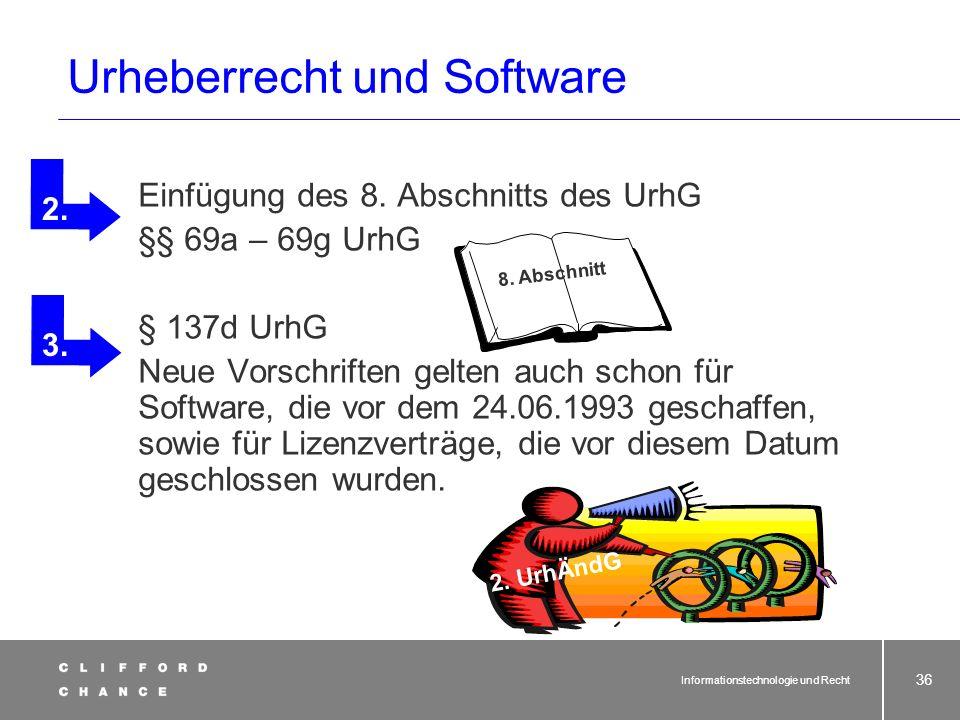 Informationstechnologie und Recht 34 Lanz Lanz? Ergänzender wettbewerbsrechtlicher Schutz § 3 UWG [Generalklausel] Wer im geschäftlichen Verkehre zu Z