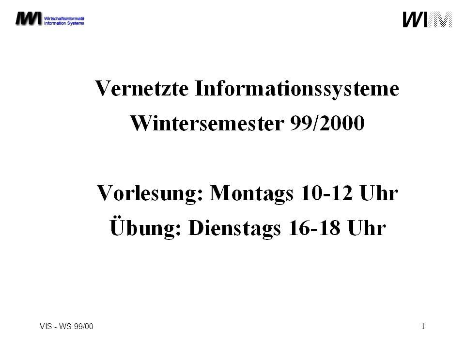 VIS - WS 99/00 1