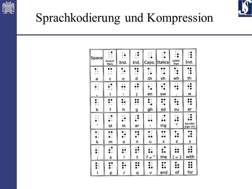 10 Sprachkodierung und Kompression