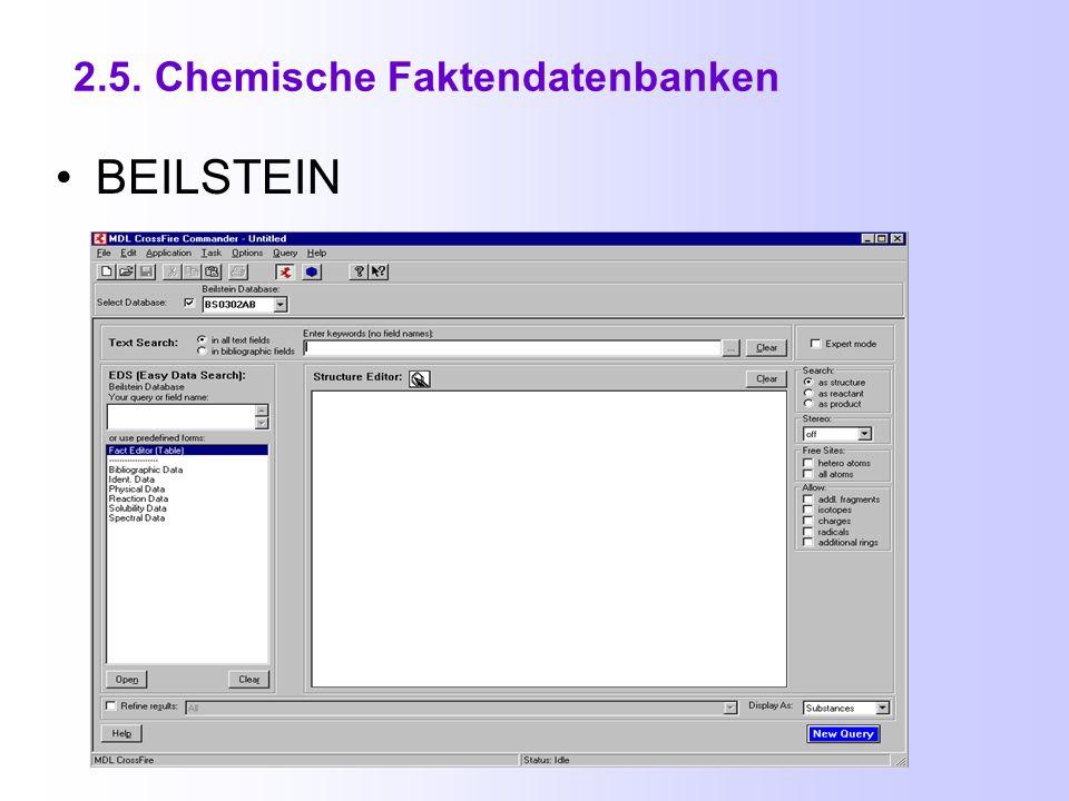 2.4. Datenbanken für Protein - Raumstrukturen (5) SWISS -3DIMAGE http://www.expasy.org/sw3d/