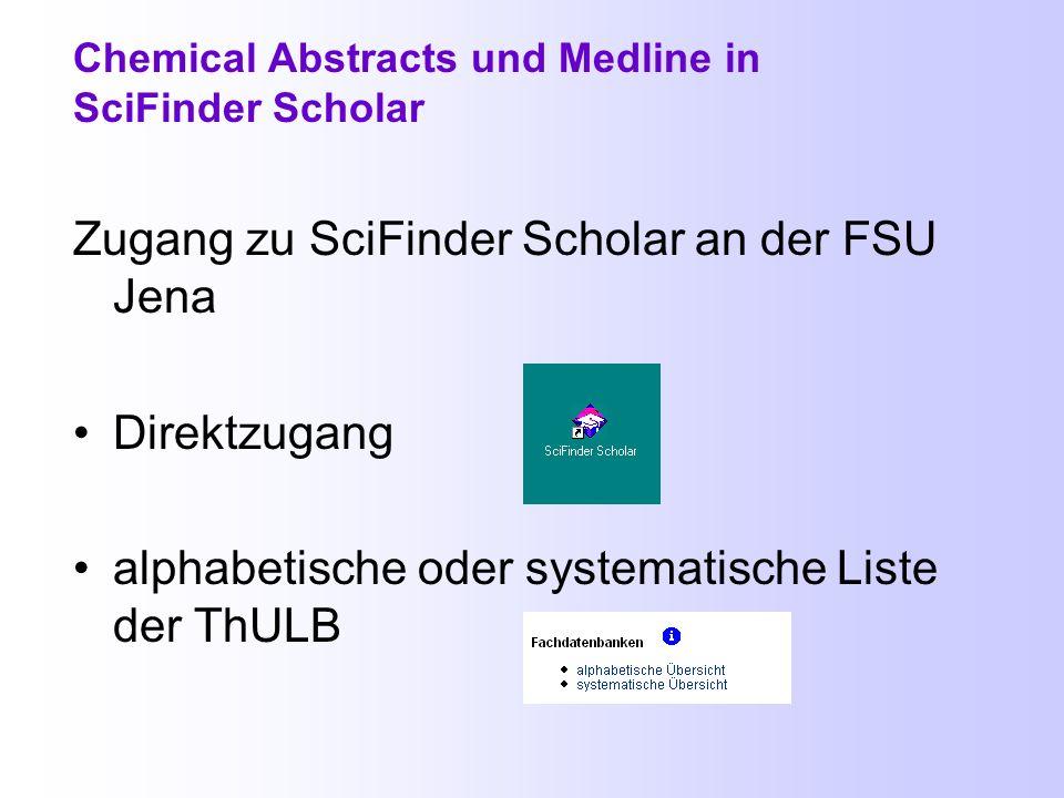 Titelanzeige im Web of Science Bibliographische Angaben, Abstract