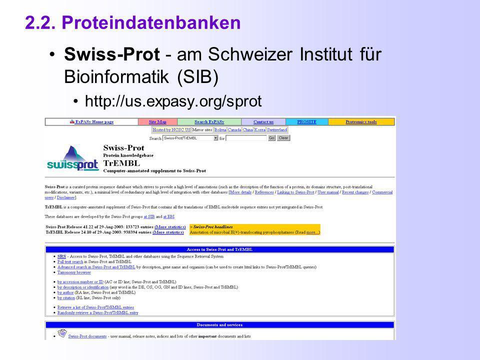 Gen - Namen Phosphoglucoisomerase: g6p, Isoformen g6p1, g6p2, g6pA,...