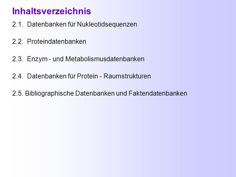Online Datenbanken für Bioinformatiker Einführung Bioinformatik Einführung Bioinformatik Oktober 2003